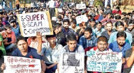 SSC Scam Protest in Delhi