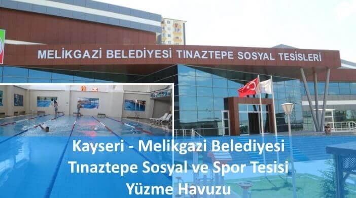 Melikgazi Belediyesi Tınaztepe Sosyal ve Spor Tesisi Yüzme Havuzu