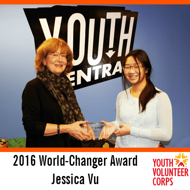 2016 World-Changer - Jessica Vu