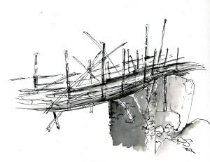 Turture pont détail