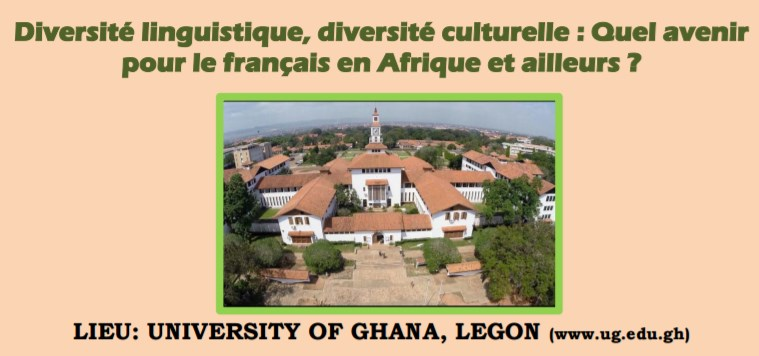 Colloque Ghana place du français en Afrique