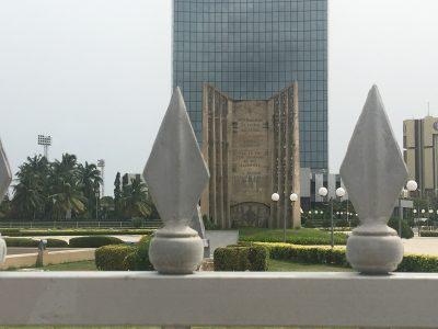 Place de l'indépendance à Lomé