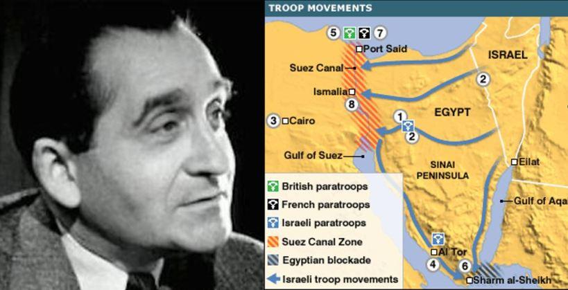 Pierre Mendes France - Le Canal de Suez en 1956