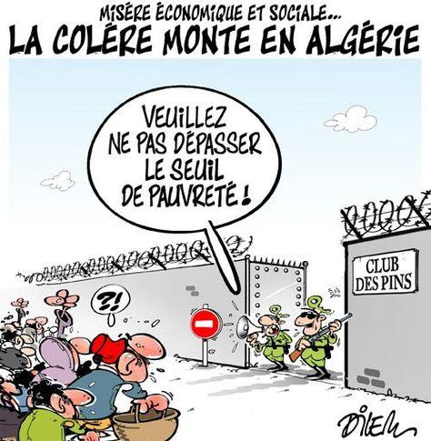 algérie économie et social