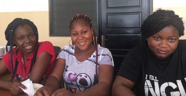 3 étudiantes francophones du Bénin
