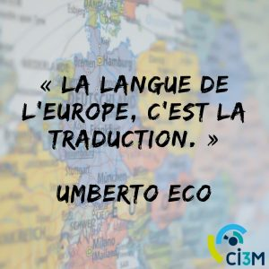 La langue de l'Europe c'est la traduction