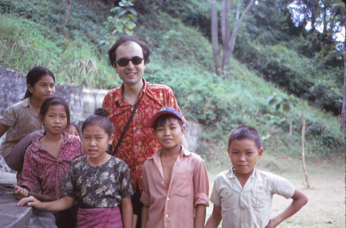 Yves Montenay au Laos (1974)