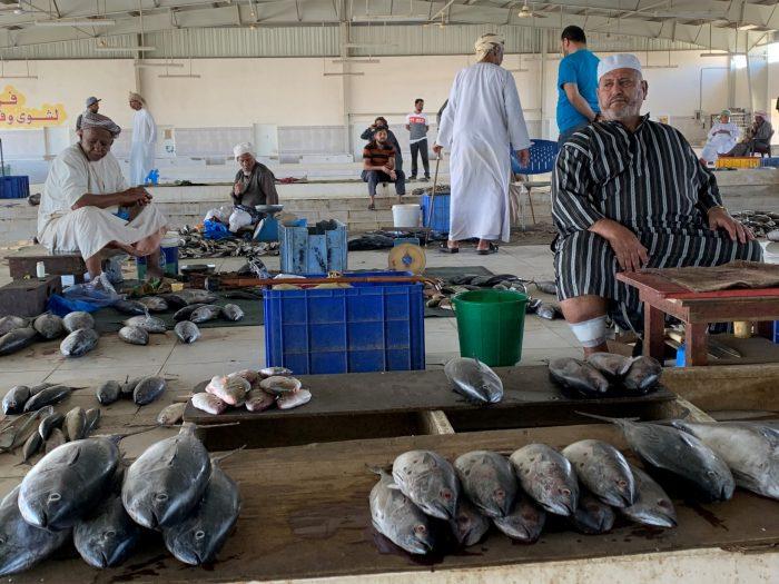 Oman Marché aux poissons