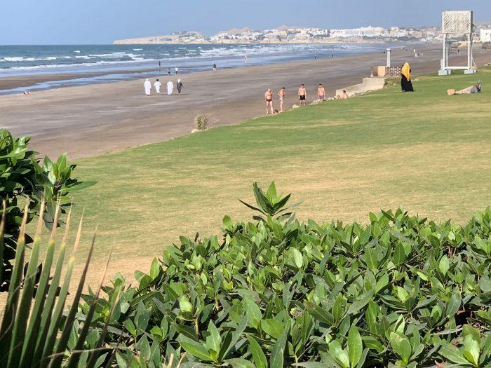 Promenade en front de mer Mascate