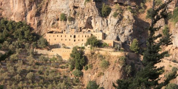 La vallée sainte au Liban monastère d'Edisha
