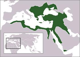 Les limites de l'empire ottoman (1683)