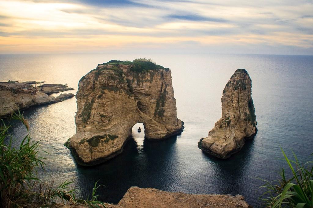 Le Rocher (El Rawché) ou la Grotte aux Pigeons