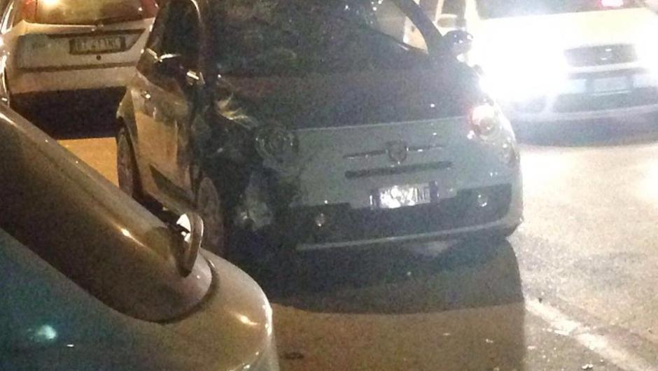 Biancavilla, incidente in via Cristoforo Colombo