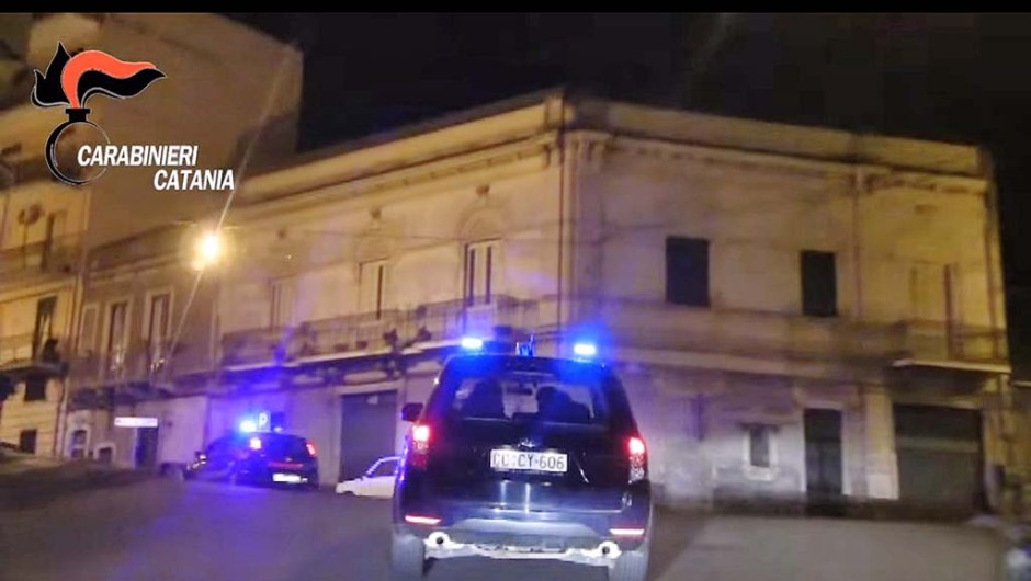"""Paternò, """"The end"""" blitz dei Carabinieri contro il clan Assinnata"""