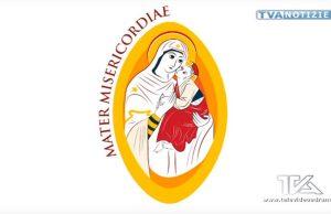 Il logo raffigurante una stilizzazione dell'icona bizantina della Madonna dell'Elemosina, opera di Giovanni Stissi