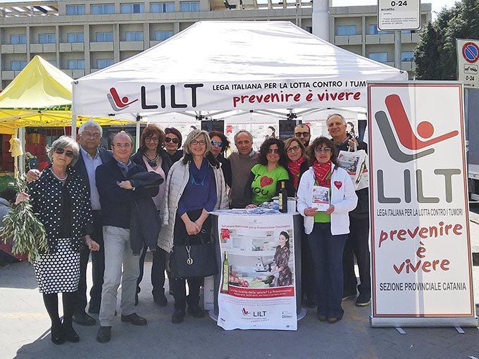 Paternò, locale dell'ospedale alla Lilt. Il presidente Romano: «Affiancheremo le istituzioni»