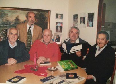 Da sinistra: Salvatore Luigi Distefano, Rosario Trovato, Antonio Carvajal, Dionisío Pérez Venegas, Tito Furnari