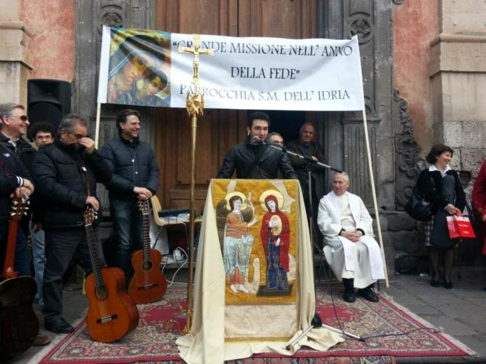"""""""Grande Missione nelle Piazze"""": l'evangelizzazione Neocatecumenale anche ad Adrano, Biancavilla, Licodia"""