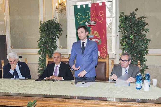 Da sinistra: Andrea Scuderi, Alfio Papale, Carlo Caputo, Roberto Monteforte