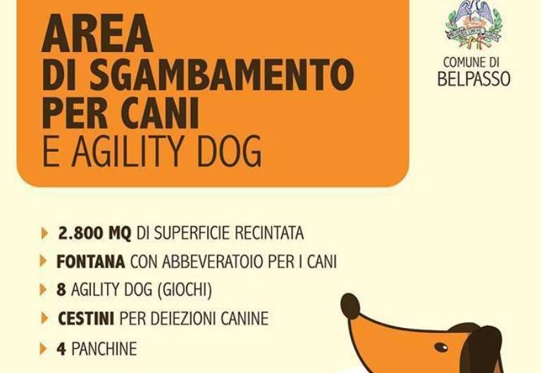 Belpasso, nasce l'area di sgambamento per cani