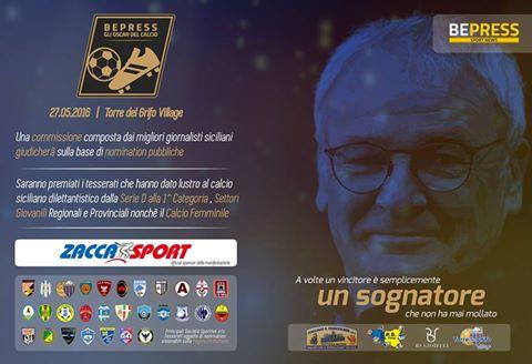 Calcio dilettantistico: domani a Torre del Grifo verranno assegnati gli oscar del calcio BePress