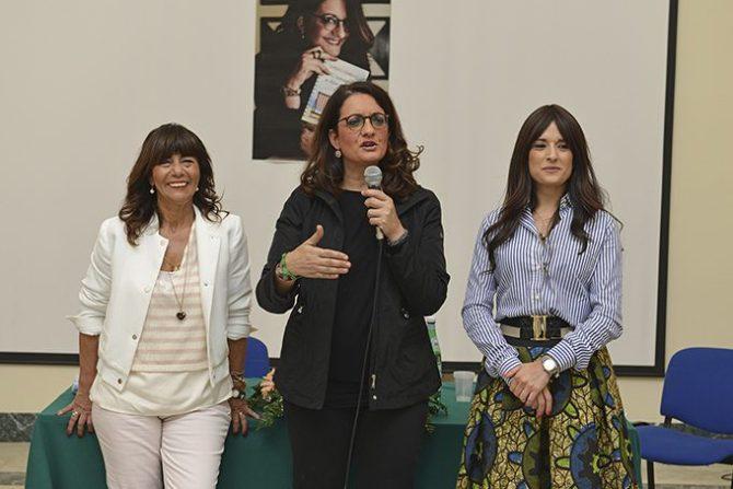 Catena Fiorello in una recente presentazione a Belpasso