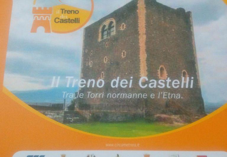 """Adrano-Paternò, presto il """"Treno dei castelli"""""""