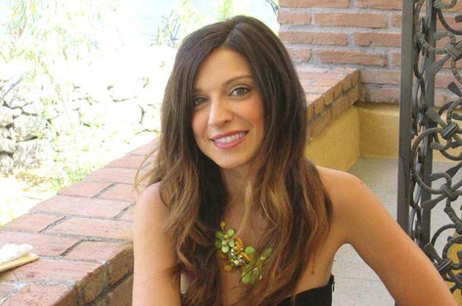 La scrittrice Mariella Palmeri