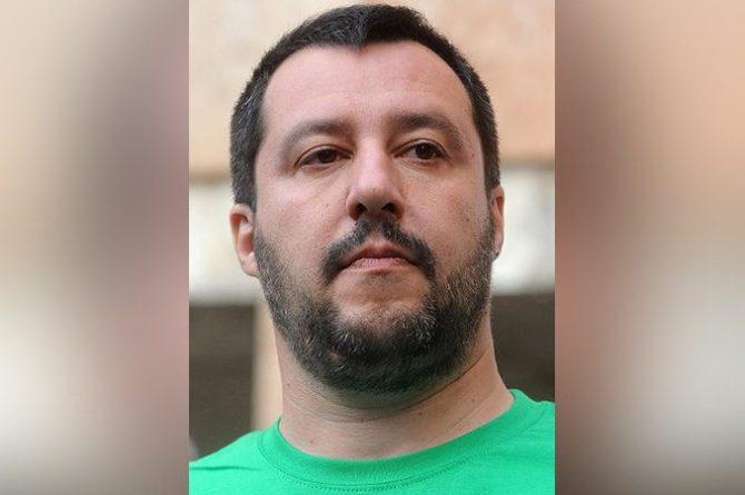 Matteo Salvini - Foto Niccolò Caranti
