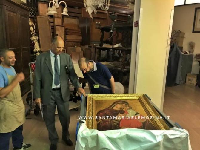 La Madonna dell'Elemosina in Vaticano - Foto di Giovanni Stissi