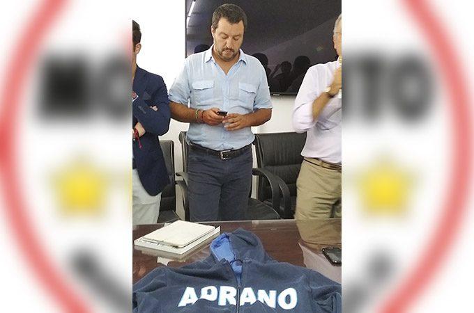Adrano, il Movimento 5 Stelle all'attacco di Salvini