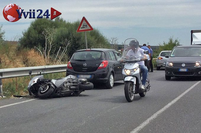Santa Maria di Licodia, incidente sulla statale: ferito scooterista di Biancavilla