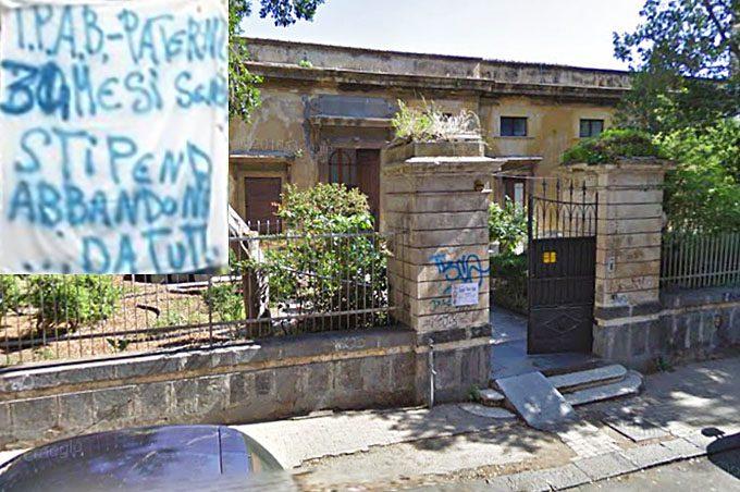 """Ipab """"Bellia"""" Paternò: lavoratori senza stipendi da tre anni, protesta a oltranza"""