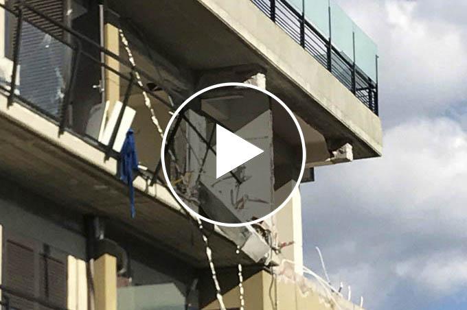 Catania, esplosione in via Cosentino Sava: feriti lievi
