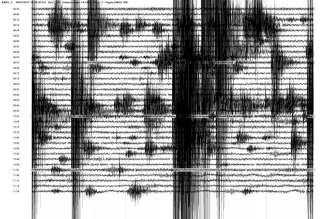 Terremoto: 60 scosse da stamattina con epicentro Ragalna-San Leo