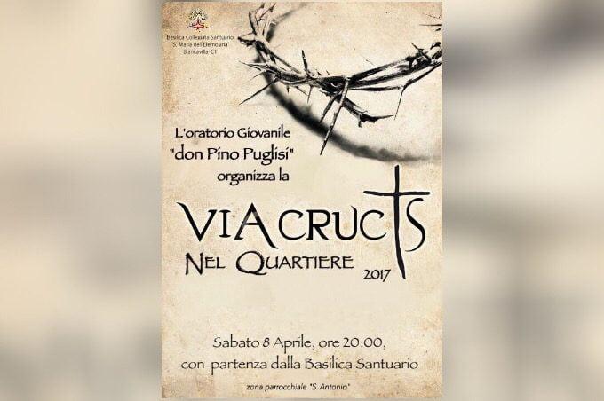 """Biancavilla, questa sera """"Via Crucis nel quartiere"""""""