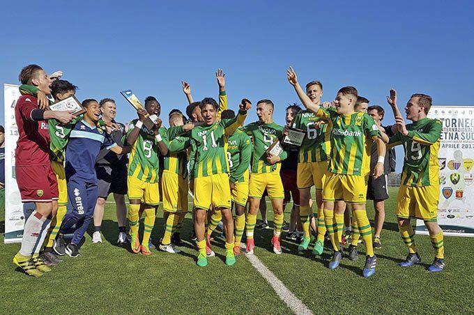 Calcio, Ado Den Haag (U17) e Siracusa (U15) trionfano al Torneo Etna Sud