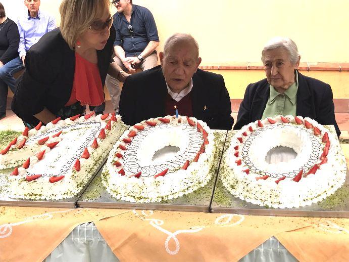 """Santa Maria di Licodia, """"nonno"""" Domenico compie 100 anni"""