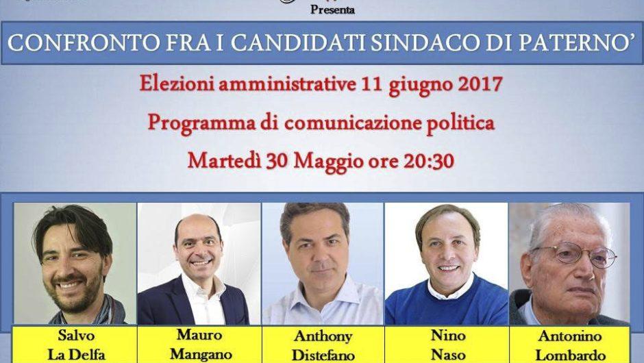 Paternò, domani sera confronto fra candidati sindaco su Yvii Tv