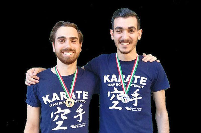 Paternò. Karate, Castelli e Batticciotto sul podio ai campionati universitari