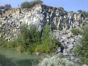 I basalti lavici della Valle delle Muse