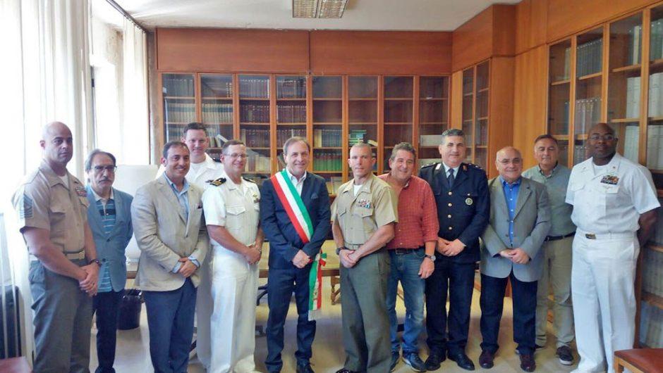 Paternò, incontro fra amministrazione e marines di Sigonella