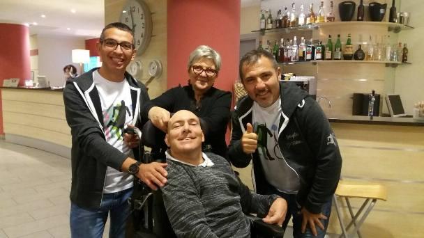 """Un licodiese tra gli """"Spingitori di Fabrizio"""""""