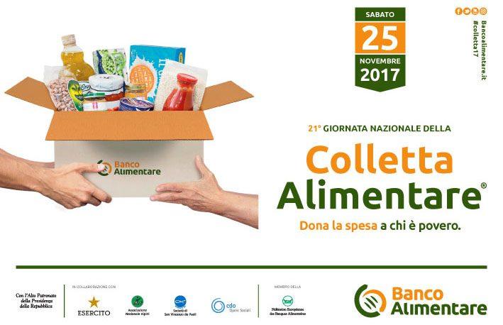 Domani in oltre 1200 punti siciliani la 21° Colletta alimentare