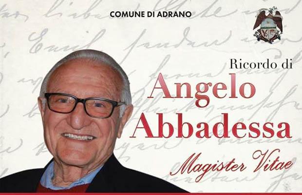 Adrano venerdì il ricordo del preside Abbadessa