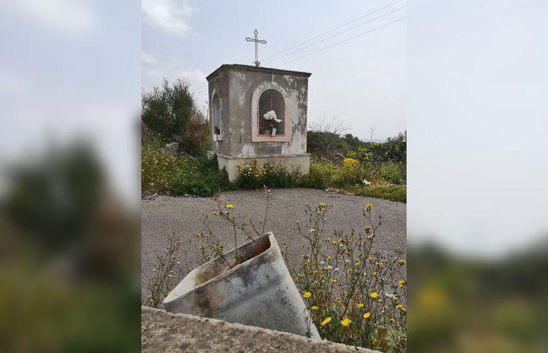 Belpasso, l'altarino di sant'eternit