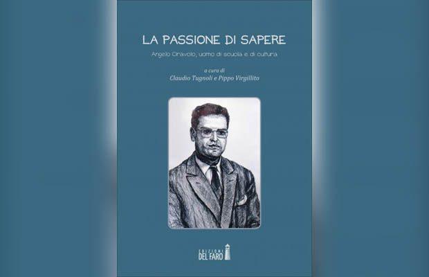 """Paternò: domani la presentazione del libro """"La passione di sapere"""""""
