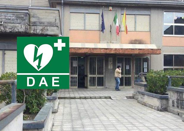 """Santa Maria di Licodia, un defibrillatore al Comprensivo """"Don Bosco"""""""