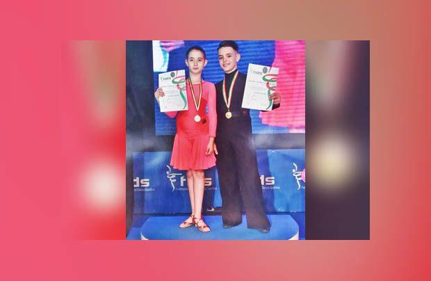 Alfio e Nicole, piccoli grandi campioni di danza