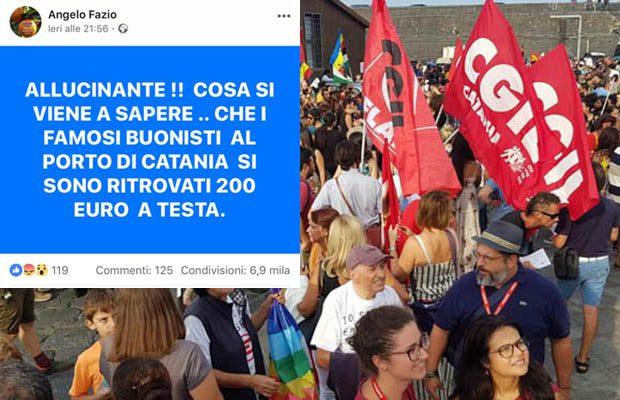 """È un grillino paternese l'autore della falsa notizia sui manifestanti contro il blocco della """"Diciotti"""""""